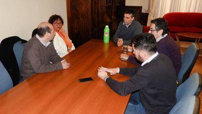 López recibió a comerciantes frente a la situación económica local