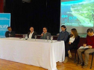 Presentaron el Plan Director de Agua de Dina Huapi