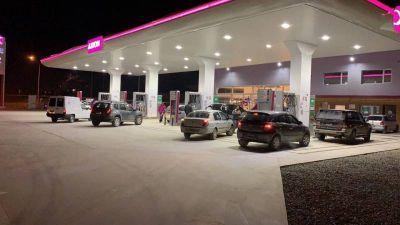 Inauguró la nueva estación de servicio Axion en el Alto de Bariloche