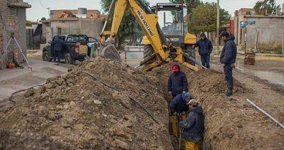 Finalizó la obra del acueducto del barrio INTA