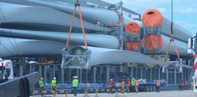 Avanzan las obras de construcción del parque eólico Los Teros