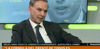 """Miguel Angel Pichetto: """"Hay algunos que están queriendo adelantar la elección de octubre"""""""