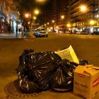 Por una medida de fuerza de Camioneros, no habrá en la ciudad recolección de residuos