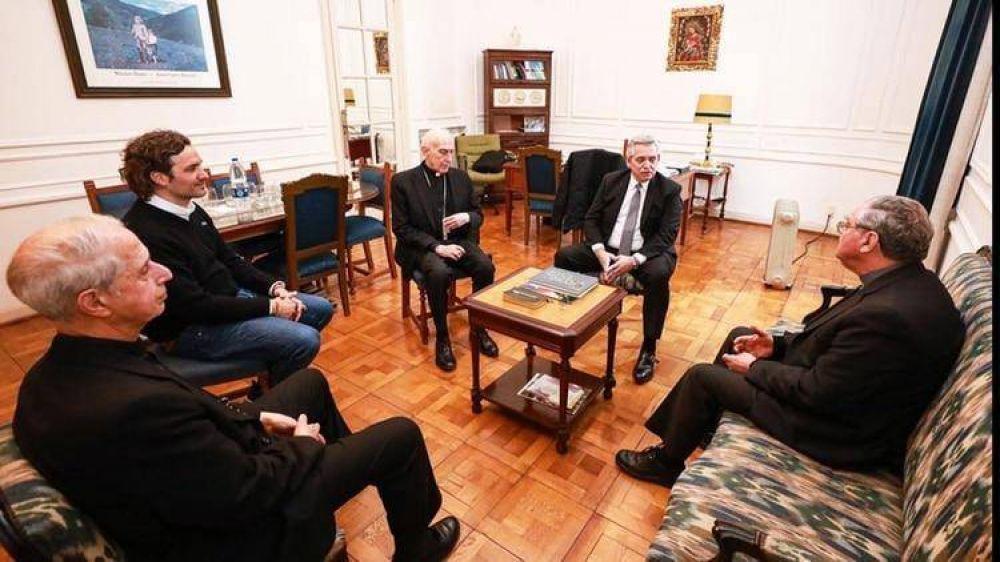 Alberto Fernández empezó a reforzar su vínculo con la Iglesia: las prioridades que se fijó para su eventual gestión