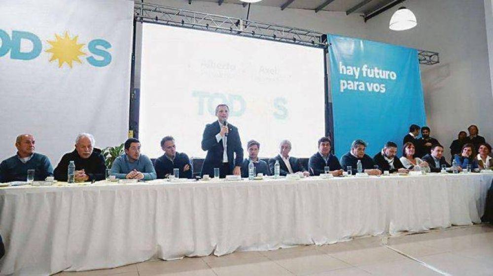 Kicillof exhibió nuevo mapa de poder del PJ con eje Cristina-Massa