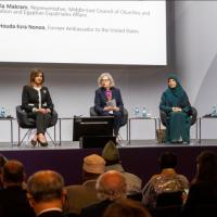 """Mujeres reivindican su """"gran potencial"""" como constructoras de la paz mundial"""