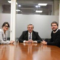 Alberto F y Lammens oficializaron la candidatura de Marziotta