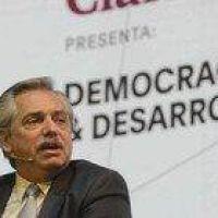 """Alberto Fernández: """"La Argentina no tiene posibilidad de caer en default si yo soy presidente"""""""