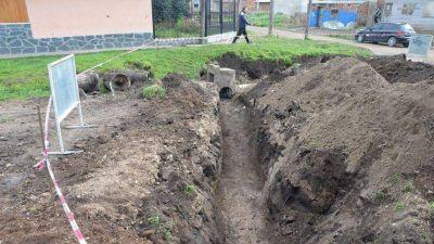 Realizan importantes obras pluviales en la ciudad