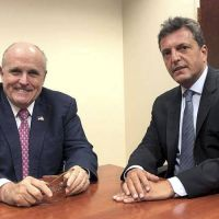Rudy Giuliani y Mark Jones: la agenda de Massa en Estados Unidos (para acercarse a Trump)