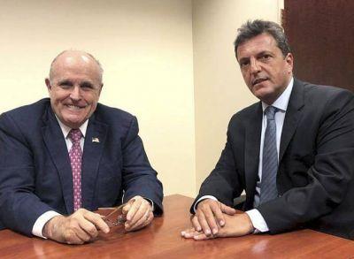 Rudy Giuliani y Mark Jones: la agenda de Massa en Estados Unidos (para acercarse a Trump)