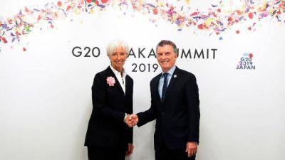 Macri y Fernández miden sus fuerzas políticas con la visita del FMI a la Argentina