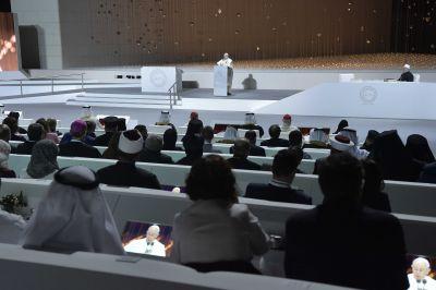 El Papa agradece la creación del Comité para implantar el Documento de Abu Dhabi