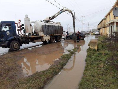 Operativo para garantizar el buen funcionamiento del sistema pluvial