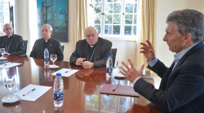 Expectativa por el encuentro de Mauricio Macri con la cúpula episcopal