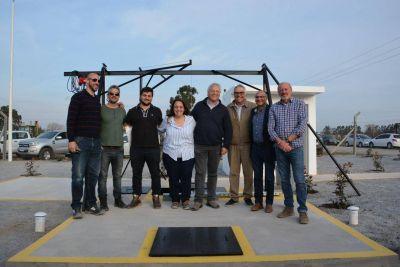 Se inauguró la primera estación de bombeo cloacal