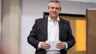 Alberto Fernández alcanzó el 49,55% y Kicillof el 52,2% en el escrutinio definitivo