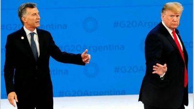 Macri camina a octubre ya sin respaldo de las principales potencias