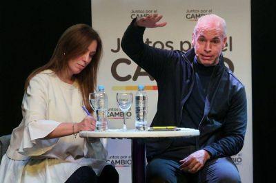 Vidal y Larreta, en tensión con la Rosada, ya piensan más allá de las elecciones