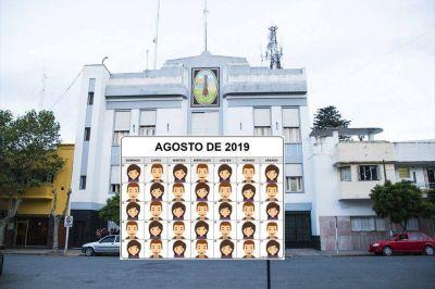 Agosto trae 31, Lopez también. 31 empleados nuevos