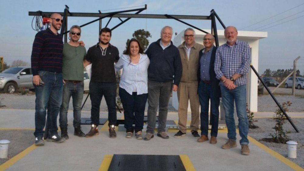 Inauguran la primera estación de bombeo cloacal