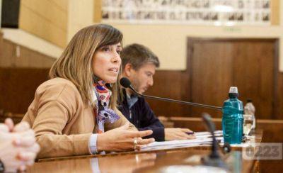 """Virgnia Sívori: """"El esfuerzo siempre lo hacen los contribuyentes"""""""