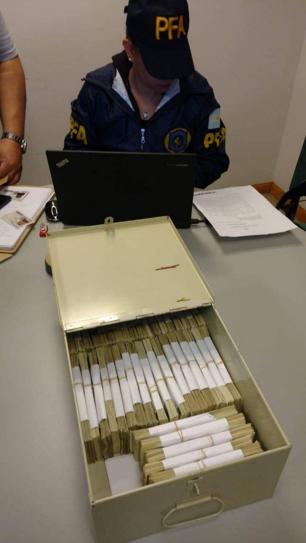 Encontraron otros U$S 400.000 del gremio Surrbac en una caja de seguridad