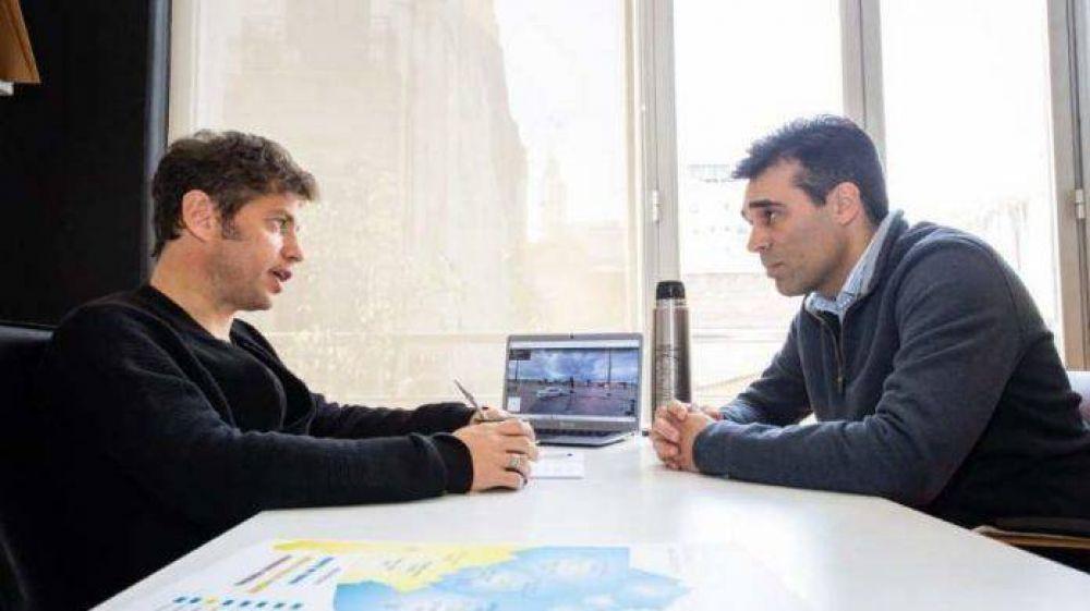 """Axel Kicillof: """"Siendo Facundo intendente el trabajo del puerto va a estar mucho más coordinado"""""""