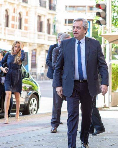 Alberto Fernández en Madrid: se reunirá con el presidente Sánchez y expondrá sobre Mercosur-UE en el Congreso español