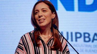 María Eugenia Vidal anunciará un paquete de medidas de ayuda social y laboral de 1.400 millones de pesos