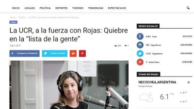 Fake news: Mentiras sobre una candidata radical local