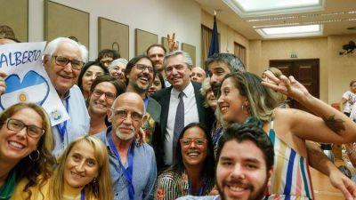 La relación con Estados Unidos, el pago de la deuda y las detenciones de dirigentes políticos: las definiciones de Alberto Fernández en España