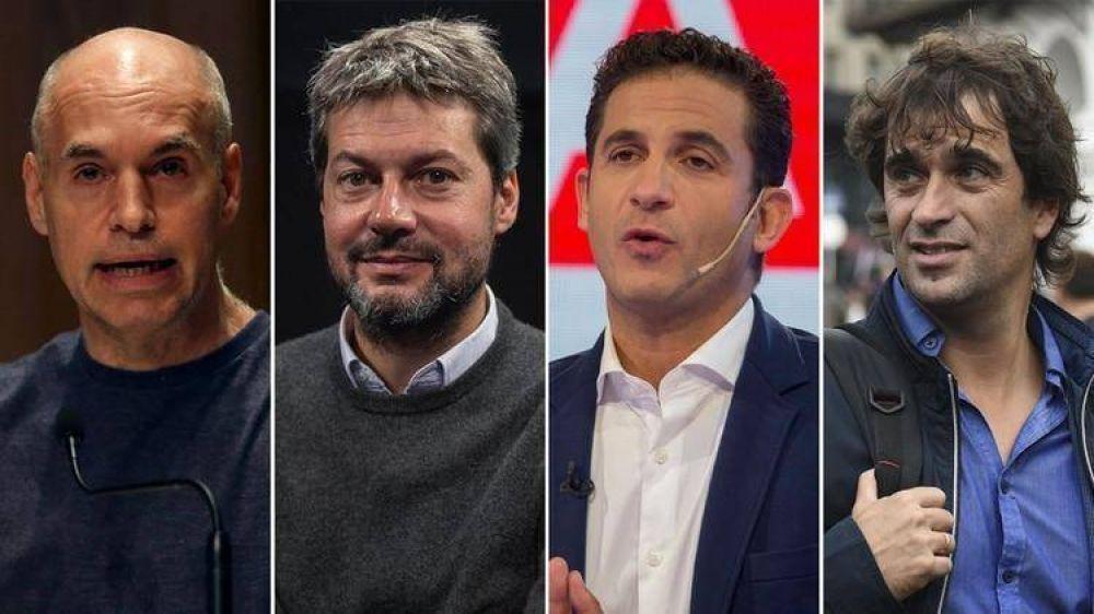 Sin acuerdo entre los candidatos, la Justicia le pondrá fecha al debate a Jefe de Gobierno porteño