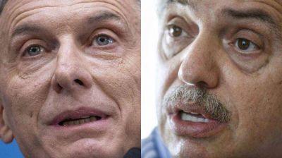 El diálogo tenso entre Alberto Fernández y Mauricio Macri