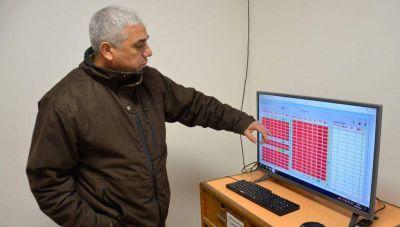 Moderno sistema de monitoreo de bombas de agua