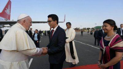 Madagascar recibe con alegría y entusiasmo al Papa Francisco