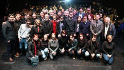 Matías Lammens y Gisela Marziotta relanzan la campaña porteña: