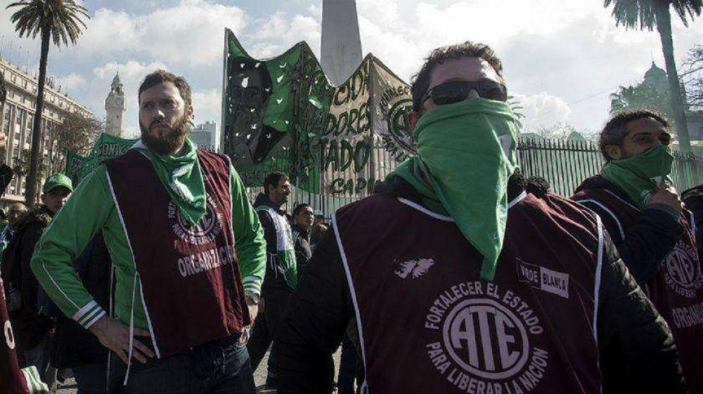 ATE y la CTA Autónoma realizarán un paro nacional con marchas y protestas en todo el país