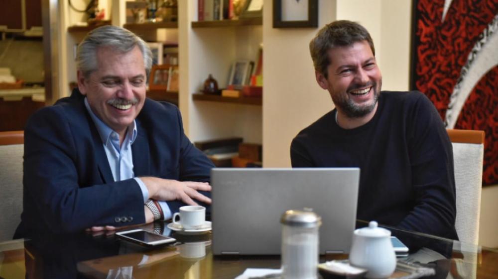 Lammens relanza la campaña con Alberto y busca forzar un ballotage