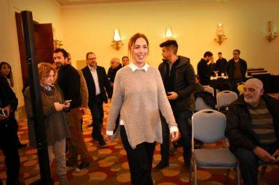 La gobernadora Vidal llegó a Mar del Plata