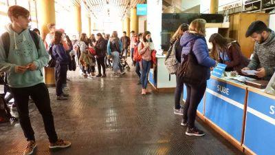 La Comuna informó que hay 3900 chicos inscriptos para el boleto estudiantil
