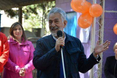 El gobernador inauguró la nueva planta potabilizadora de Nogolí