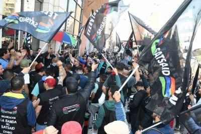 SATSAID movilizó en todo el país para exigir la aplicación de la revisión salarial