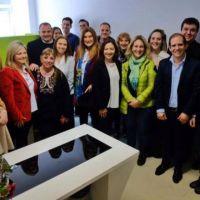 Firmaron un convenio para la instalación de un consultorio de kinesiología en el CEMA
