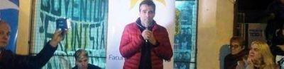 Pese a todo.Facundo López inauguró una básica en Quequén