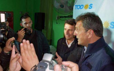 """Massa en San Miguel: """"Necesitamos a Franco La Porta como intendente"""""""