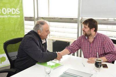 General Lavalle firmó un acuerdo con el OPDS