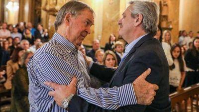 Gobernabilidad, votos, y pacto social: la extensa conversación a solas que mantuvieron Fernández y Schiaretti