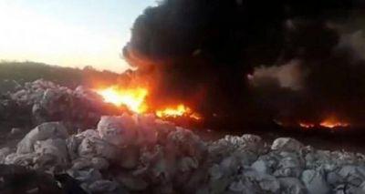 Llegan especialistas internacionales por el incendio de YPF en Vaca Muerta