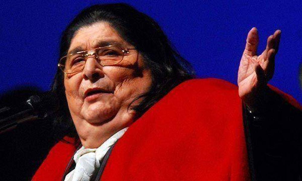 A los 74 años, falleció Mercedes Sosa